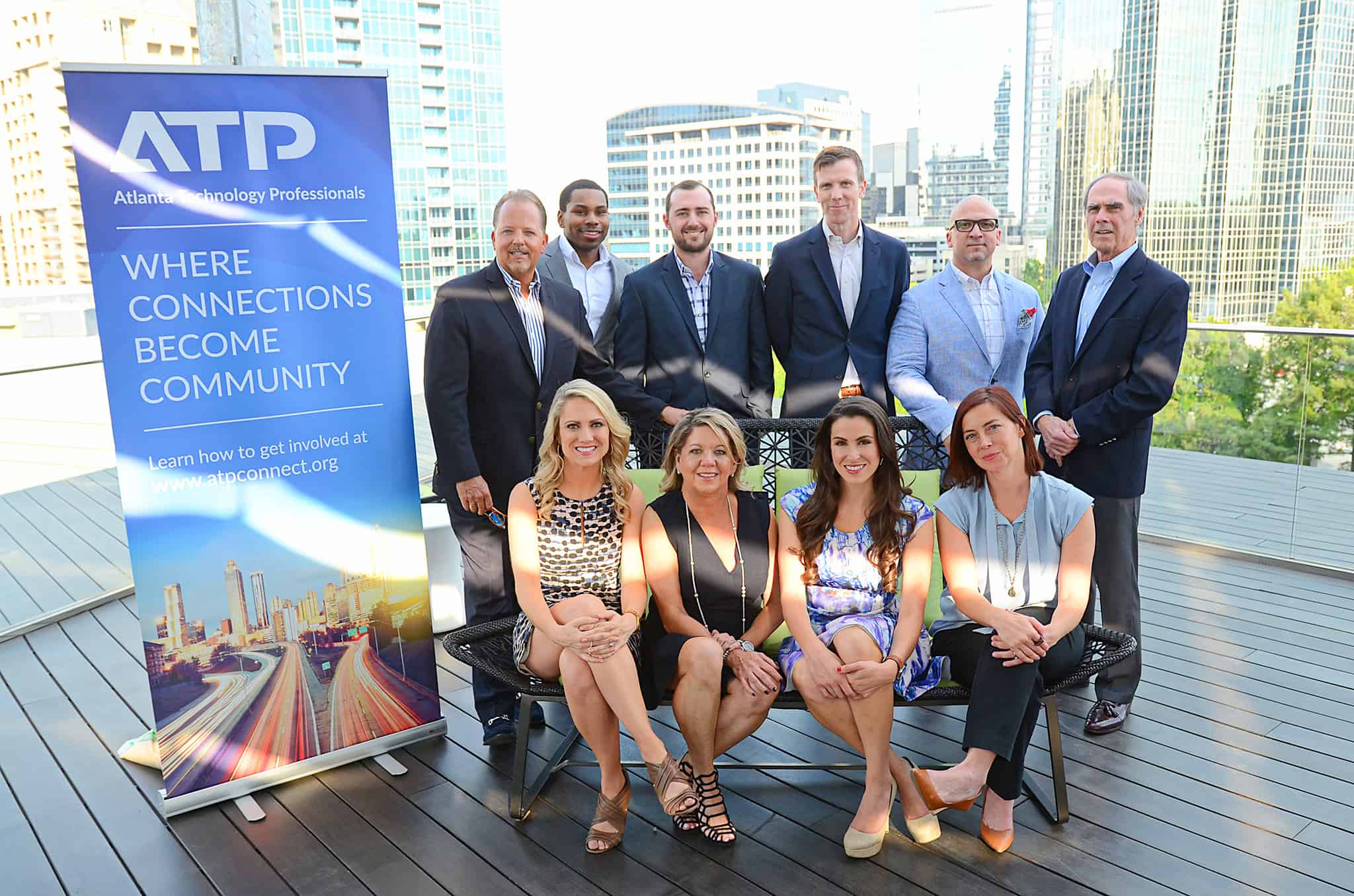 A photo of the board of directors at the ATP Social