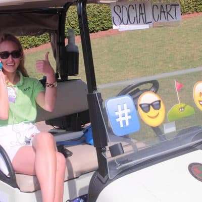 CIO Gof Tourney Social Cart