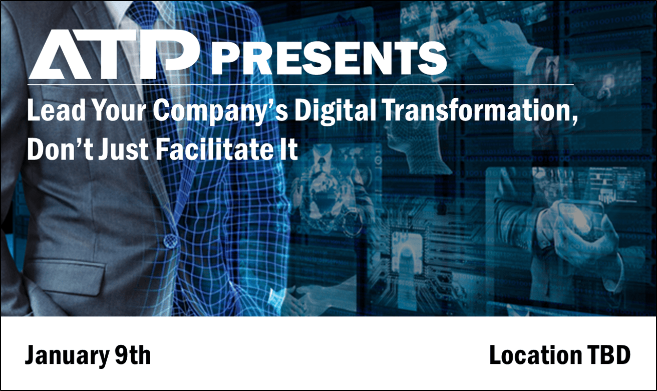 Lead Your Company's Digital Transformation, Don't Just Facilitate It