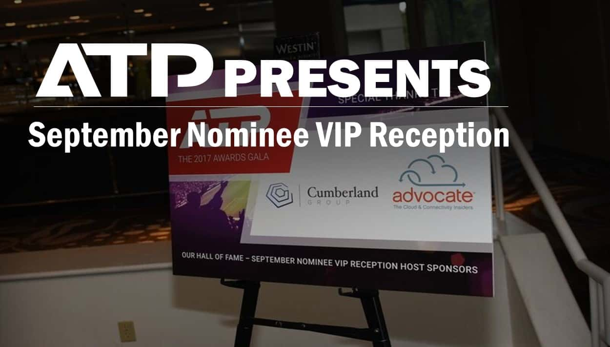 September Nominee VIP Reception